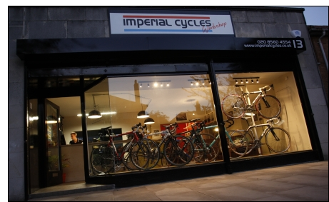 imperial cycles at dusk